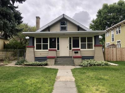 Great Falls  Single Family Home For Sale: 1816 3rd Avenue North