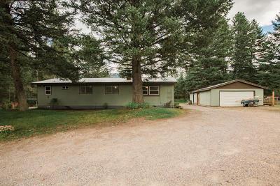 Columbia Falls Single Family Home For Sale: 1585 13th St E North
