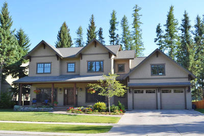 Whitefish Single Family Home For Sale: 1037 Creekview Drive