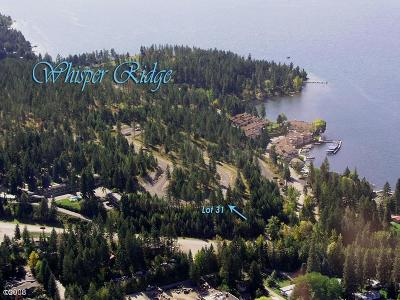 Flathead County Residential Lots & Land For Sale: 207 Whisper Ridge Drive