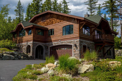 Whitefish Single Family Home Under Contract Taking Back-Up : 194 Ridge Run Drive