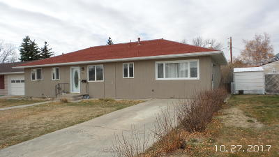 Cut Bank Single Family Home For Sale: 308 8th Avenue South East