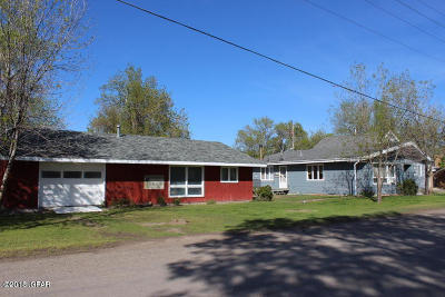 Fort Benton Single Family Home For Sale: 1107 10th Street