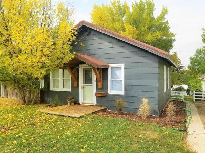 Cut Bank MT Single Family Home For Sale: $69,000