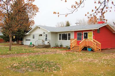 Fort Benton Single Family Home For Sale: 803 Franklin Street