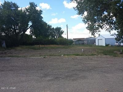 Cut Bank Residential Lots & Land For Sale: 206 6th Avenue North East