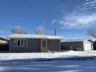 Cut Bank Single Family Home For Sale: 411 Circle Drive
