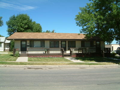 Cut Bank Multi Family Home For Sale: 20 5th Avenue South East