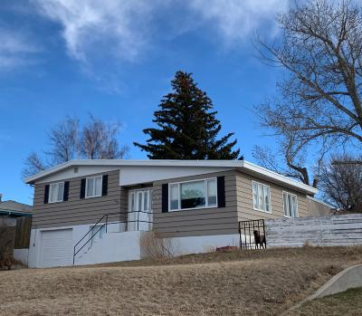 Cut Bank Single Family Home For Sale: 323 1st Avenue South West