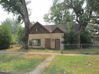 Fort Benton Single Family Home For Sale: 1008 16th Street