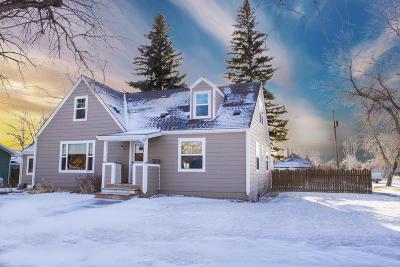 Choteau Single Family Home For Sale: 102 2nd Avenue South West
