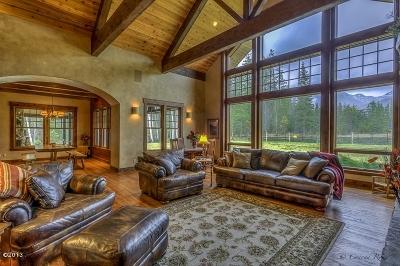 Bigfork Single Family Home For Sale: 2384 Mt Highway 83