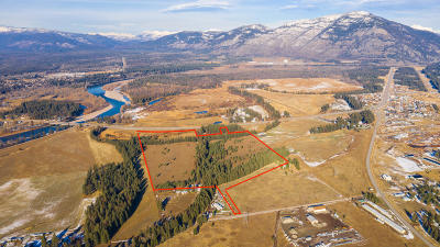 Columbia Falls Residential Lots & Land Under Contract Taking Back-Up : Nhn Highway 2 East