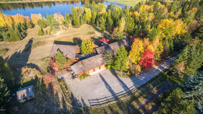 Flathead County Single Family Home For Sale: Nhn Blanchard Lake Drive