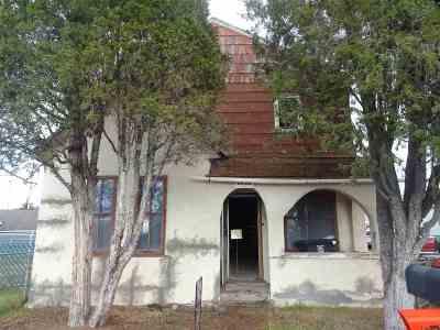 Single Family Home For Sale: 2520 South Montana St.