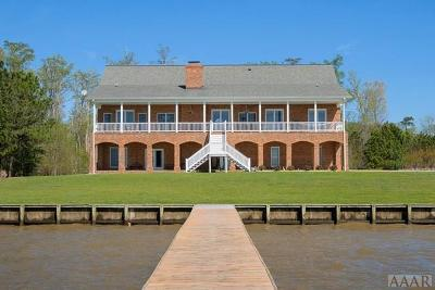 Chowan County Single Family Home For Sale: 126 Osprey Drive