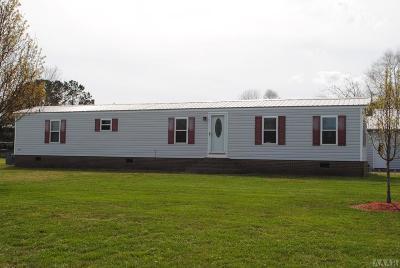 Moyock NC Single Family Home For Sale: $129,500