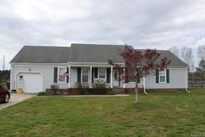 Moyock NC Single Family Home Under Contract: $250,000