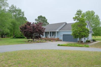 Chowan County Single Family Home For Sale: 150 Deans Farm Rd