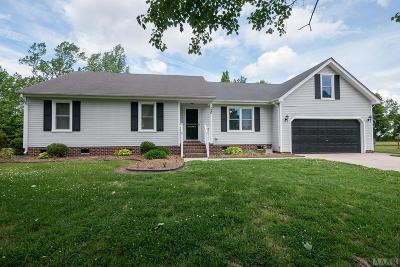 Moyock NC Single Family Home For Sale: $249,900