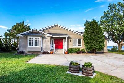 Currituck County Single Family Home For Sale: 387 Narrow Shore Road