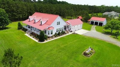 Currituck County Single Family Home For Sale: 101 Gibbs Hill Lane