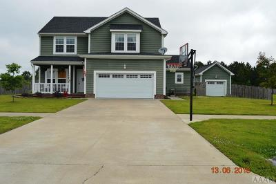 Moyock NC Single Family Home For Sale: $325,000