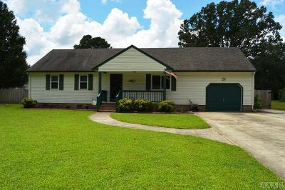 Moyock NC Single Family Home For Sale: $289,900
