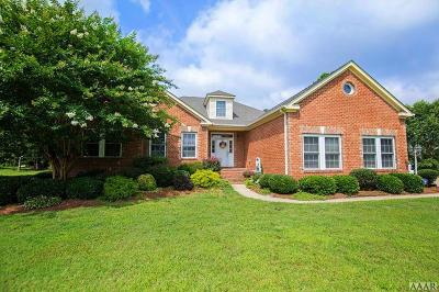 Pasquotank County Single Family Home For Sale: 805 Lister Chase