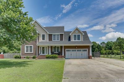 Moyock NC Single Family Home For Sale: $320,000