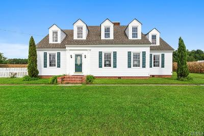 Camden County Single Family Home Under Contract: 118 Run Swamp Rd