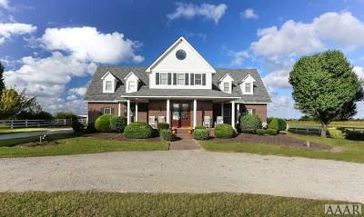 Currituck County Single Family Home Under Contract: 3633 Caratoke Hwy