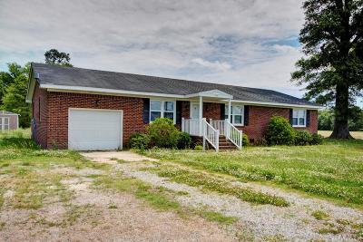 Camden County Single Family Home For Sale: 130 Sand Hills Road
