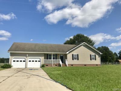 Camden County Single Family Home Under Contract: 132 Pine Ridge Road