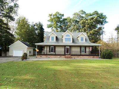 Camden County Single Family Home Under Contract: 120 Billets Bridge Rd