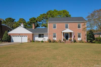 Chowan County Single Family Home For Sale: 210 Queen Anne Drive