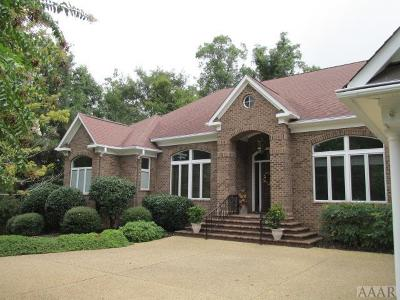 Perquimans County Single Family Home For Sale: 234 Beech Point Dr