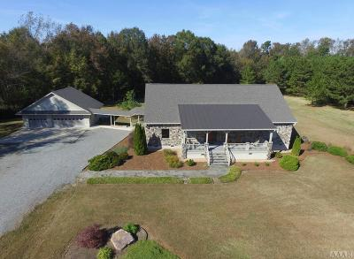 Hertford County Single Family Home For Sale: 550 Liverman Mill Rd