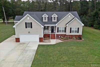 Camden County Single Family Home For Sale: 100 Deer Trail