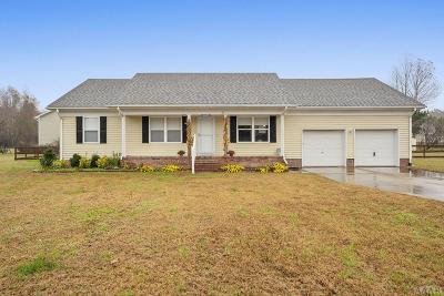 Moyock NC Single Family Home For Sale: $247,900