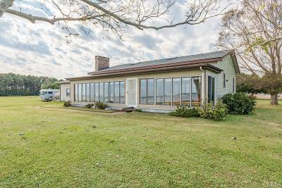 Currituck County Single Family Home For Sale: 204 Parker Road