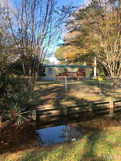 Moyock NC Single Family Home For Sale: $59,500