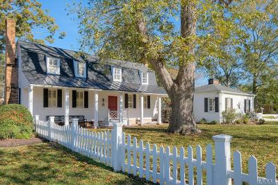 Chowan County Single Family Home For Sale: 108 N Granville Street