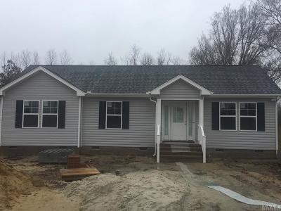 Moyock Single Family Home Under Contract: 169 Baxter Grove Rd