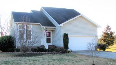 Chowan County Single Family Home For Sale: 1323 Greenhall Road
