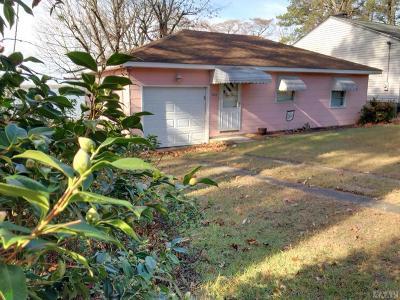 Chowan County Single Family Home For Sale: 705 Arrowhead Trail