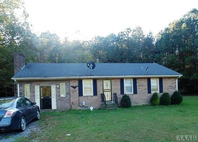 Gates County Single Family Home For Sale: 154 Hwy 158 Bus