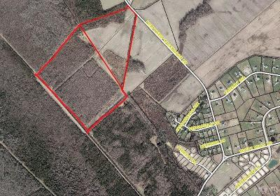 Currituck County Land/Farm For Sale: Tbd Backwoods Road