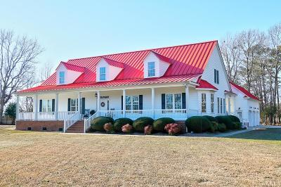 Currituck County Single Family Home For Sale: 132 Jones Lane