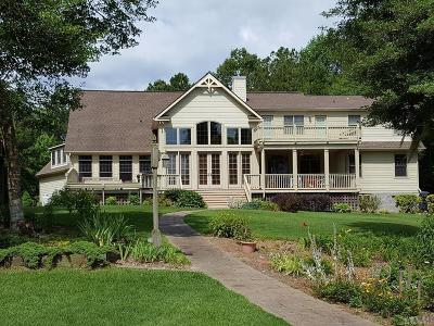 Perquimans County Single Family Home For Sale: 102 Cleveland Court